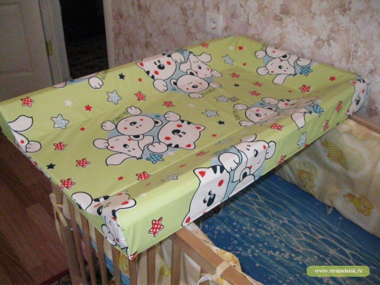 Пеленальная доска на кроватку своими руками мастер класс 80