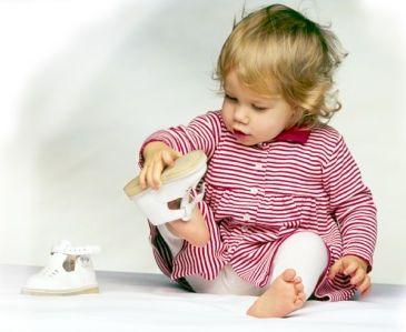 В первую очередь обувь для ребенка
